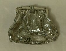 Vintage Whiting & Davis Mesh Silk Lined Coin Purse