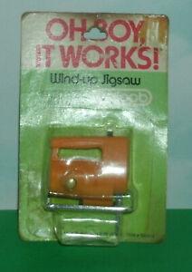 1/6 Scale Jigsaw Tool Miniature Plastic Wind-Up Toy 1980's Lewis Galoob LGI 3024