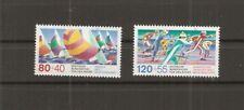 FÜR DEN SPORT 1987 BUND Michel 1310-1311 postfrisch SEGELN NORDISCHER SKISPORT