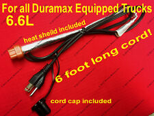 2001-2018 6.6 L Duramax Diesel Block Heater Cord Chevy GMC Silverado 2500 3500