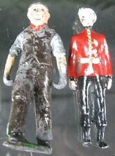 Vintage Miniature Lead Hill Wounded & One Carrier