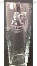NEW ENGLAND PATRIOTS SUPER BOWL CHAMPION BEER GLASS:NEW