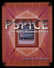 PSPICE FOR BASIC MICROELECTRONICS with CD, Tront Professor, Joseph G., Good Book