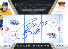 2011/12 Panini Crown Royale #24 Colin Wilson Scratching the Surface HARD SIGNED