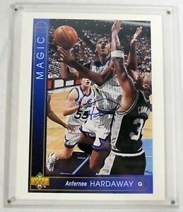 Anfernee Hardaway Signed 1993-94 Upper Deck 8x11 Photo /750 UD AUTHENTIC KCCA008