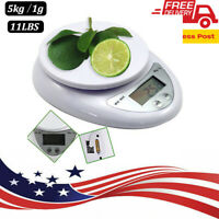 Precision Jewelry Food Electronic Digital Balance Weight Pocket Scale 5000g/1g