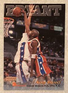 1996 Kobe Bryant Score Board Rc High School Rookie LA Lakers ScoreBoard Nm