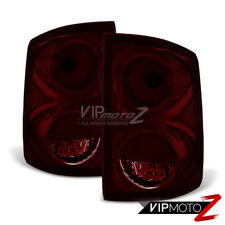 For 05-11 Dodge Dakota LARAMIE Dark Smoke Tail Light Rear Brake Lamp Left Right