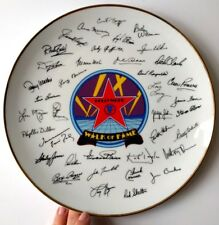 """Walk of Fame """"Hollywood"""" Signatures by Papel Korea Japan Collection Plate Ca vtg"""