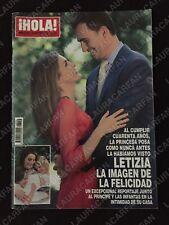 REVISTA HOLA 3556 FELIPE LETIZIA-ISABEL PRESLEY-ANNA KOURNIKOVA-ENRIQUE IGLESIAS