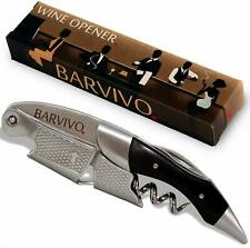 New listing Professional Waiters Corkscrew by Barvivo - This Bottle Opener for Beer and Wine