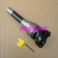 New R8 -7/16 &50mm Face end mill cutter + 10pcs carbide insert APMT1604 Milling