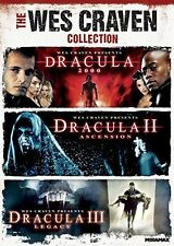The WES CRAVEN COLLECTION DVD DRACULA TRIPLE 2000-2005 DVD  R1