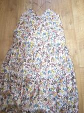 New BODEN ICONS Tallulah Silk Maxi Dress XL  100% Silk Georgette RRP £250