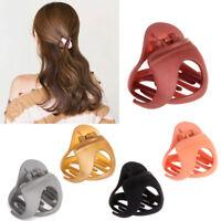 Korean Style Hair Accessories For Women Ladies Hair Claw Clip Crab Clamp Hairpin