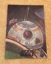 Topps Journey to Star Wars The Last Jedi BB-8 (BB8) Sketch Card by Brad Hudson