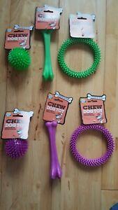 Good Boy - x6 Chew Puppy / Dog Toys - Job Lot