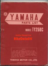 Yamaha TY250 Twinshock Trials Factory Parts List Catalog Manual Book TY 250 CN61