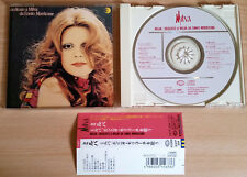 MILVA Dedicato A Milva Da Ennio Morricone RARO CD JAPAN OBI D'Amore Si Muore