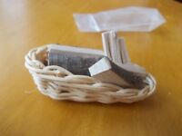 BASKET OF FIRE WOOD FOR A DOLLS HOUSE