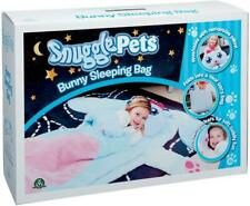 Snuggle Pets Comfy Childrens Bunny Character Soft Sleeping Bag Sleepover Girls