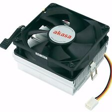 Akasa AK-865 AMD CPU Cooler - Up to 2300 RPM, 8cm Low-Noise Fan, Sleeve Bearing