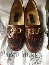 Marco Moreo Milano Brown Shoes Size 36