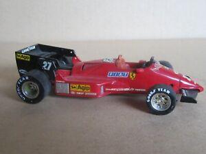 230O Brumm R142 Italien Ferrari 126 C4 #27 F1 1984 Alboreto 1:43