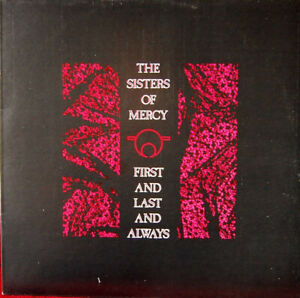 """The Sisters Of Mercy – First And Last And Always - Vinyl 12"""" LP - 1985 EX"""