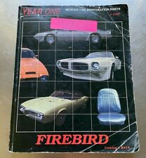 Year One Inc. Muscle Car Restoration Parts Firebird #R414 (Paperback) s#10416