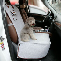 Pet Booster Lounge Bag Indoor 2 in 1 Puppy Bed Cover Safety Travel In Car Seats