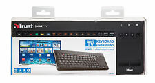 TRUST sento Smart TV Wireless UK Tastiera QWERTY, per Samsung e altri Smart TV