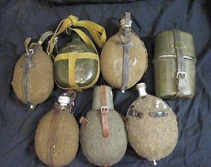Wehrmacht Militär Feldflaschen Div. Konvolut Bastler