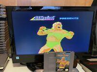 🔥100% WORKING NINTENDO NES SUPER FUN Game Cartridge + Manual WWF WRESTLEMANIA