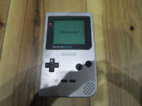 Nintendo GameBoy Light Console Silver GB MGB-101 Japan S798