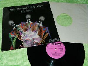THE NICE : Ars Longa Vita Brevis - Original 1968 UK 1st press LP EX/NM 216