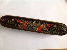 Beautiful Antique Persian quajar painted pen box