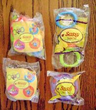 2001--SASSY Toddler Toys (Complete SET of 4 Toys) by Burger King [NIP]