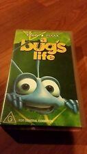 A BUG'S LIFE - DISNEY PIXAR VHS VIDEO