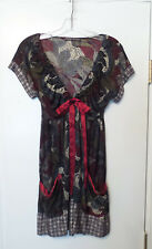 Sundance Catalog HALE BOB Silk Jersey Knit Dress Size S
