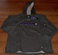 Sacramento Kings Hooded Sweatshirt Hoodie Medium Embroidered Logos NBA