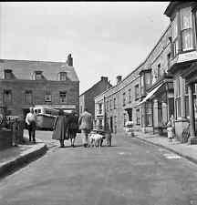 B/W 6x6 Negative Hughtown Isles Of Scilly Street Scene 1949 +Copyright Z828
