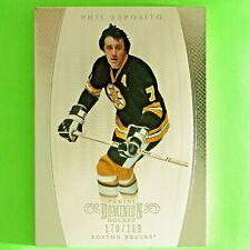 PHIL ESPOSITO  2011-12  DOMINION  170/199   Panini #100   Boston Bruins