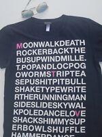 MTV Women's Black /White T-shirt Short Sleeve Top !Size S