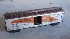 Vintage HO Scale Fleischmann Western Pacific Tin Side Box Car Look
