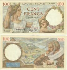 Billets de 100 francs français