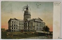 Atlanta Georgia State Capitol 1907 Tuck Series UDB to Philadelphia Postcard E16