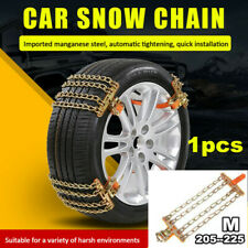 1x Car Accessories Anti-skid Snow Tyre Tire Wheel Chain Durable Steel Strap