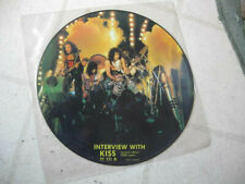 """KISS 1983? """"INTERVIEW WITH KISS"""" NEW/MINT FULL-COLOR LTD ED 12"""" UK PICTURE DISC"""