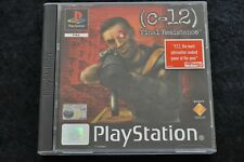 C-12 Final Resistance Playstation 1 PS1 Rental Dutch NEW Rare